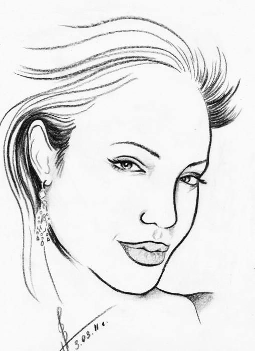 Angelina Jolie by Dory21